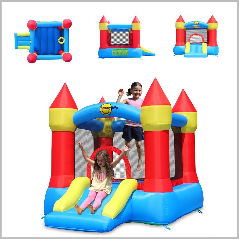 Castelo insuflável Happy Hop - Castle Bouncer with Slide - 9221