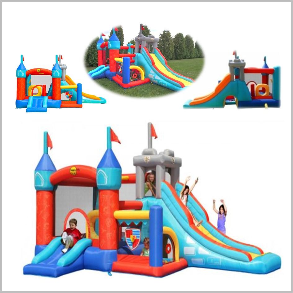 Castelo insuflável Happy Hop - 13 in 1 Bouncy Castle - 9021