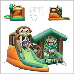 Castelo insuflável Happy Hop - Monkey Jungle - 9471