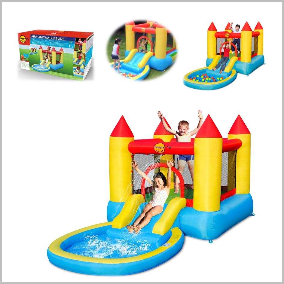 Castelo insuflável aquático Happy Hop - Pool & Slide - 9820