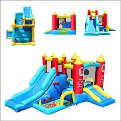 Castelo insuflável Happy Hop - 8 in 1 Jumping Castle - 9071R