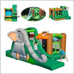 Castelo insuflável Happy Hop - Elephant's Cave - 9274