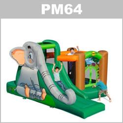 Preços do aluguer do insuflável PM64:
