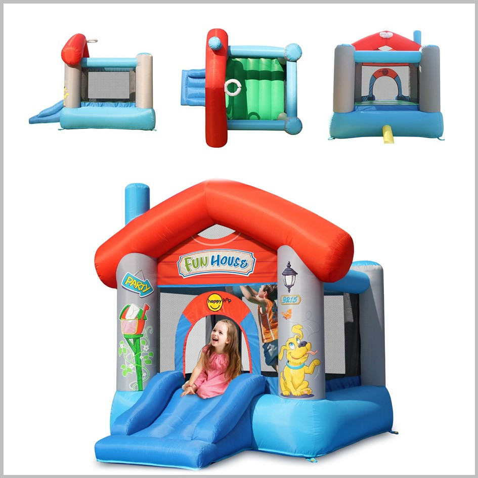 Castelo insuflável Happy Hop - Fun House - 9215