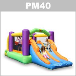 Preços do aluguer do insuflável PM40: