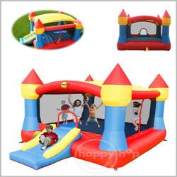 Castelo insuflável Happy Hop - XL Super Castle Slide - 9217N
