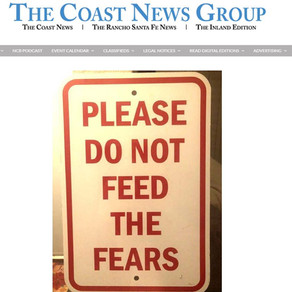 The Coast News Features CIHS' Online Events During the Covid-19 Health Crisis
