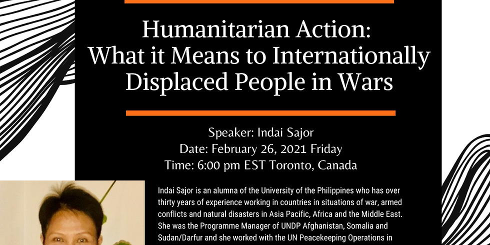 Humanitarian Action: What it Means to Internationally Displaced People in Wars