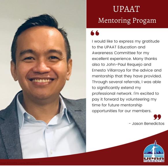 Meet a UPAAT Mentor!