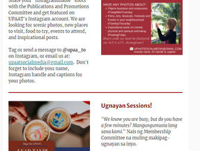 UPAAT Kaganapan email newsletter is out!