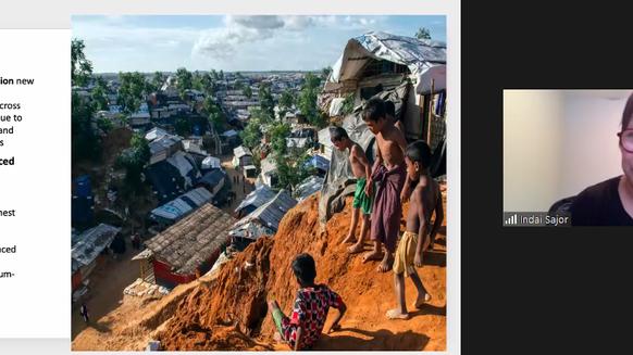 Humanitarian work needed in increasing crisis