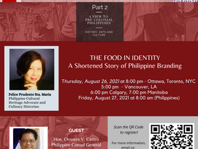 Food in Identity: An invitation to Quincentennial Culture Talks