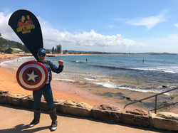 Capatain America Dee Why
