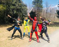 Batman, Animal Man, Deadpool and Thor 20