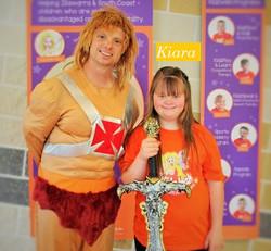 Kiara and He-Man