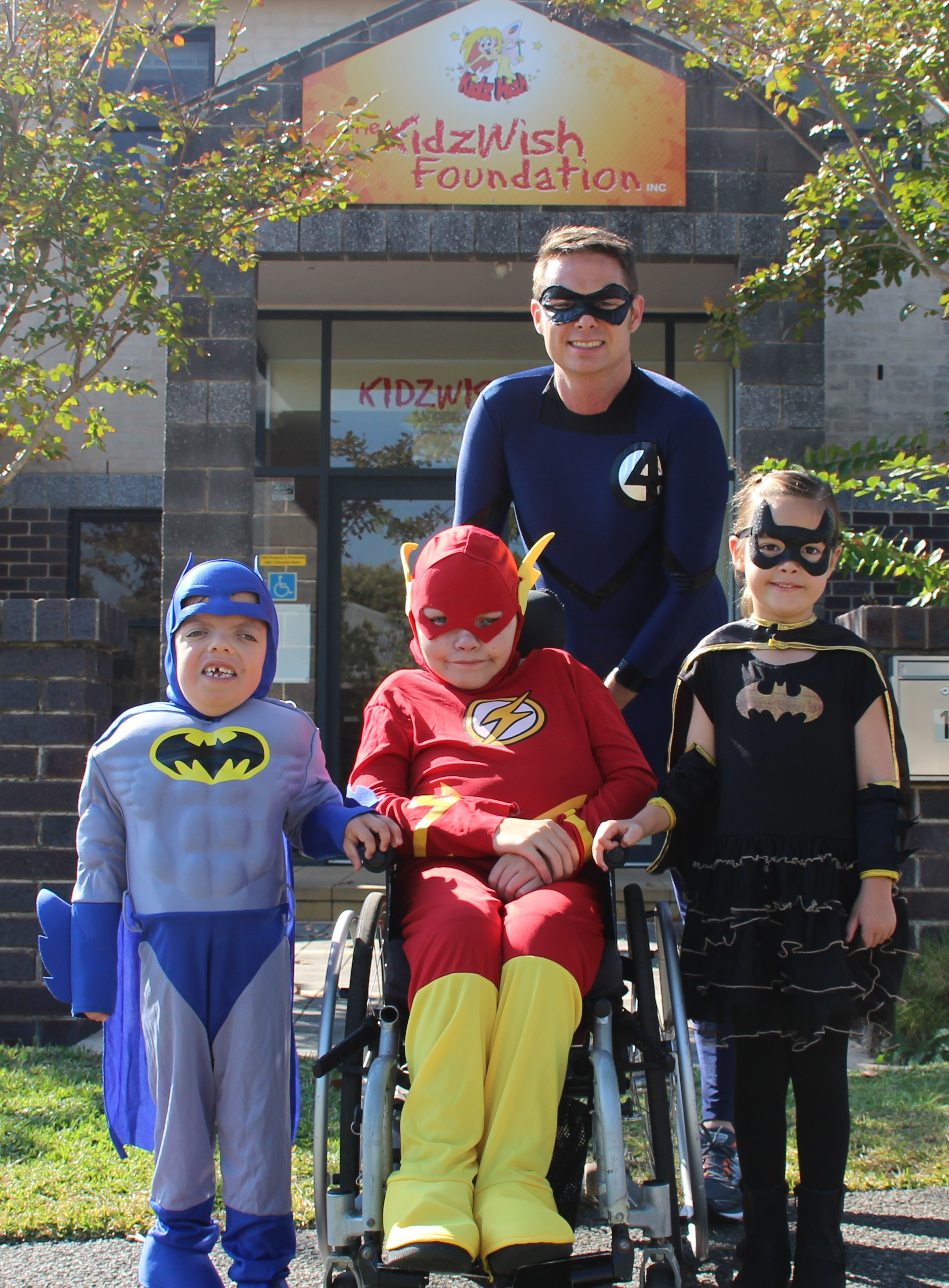 KidzWish and Superhero Walk