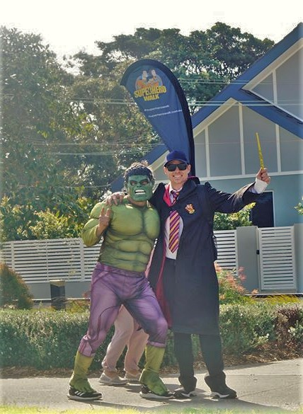 Harry Potter and the Hulk 2019