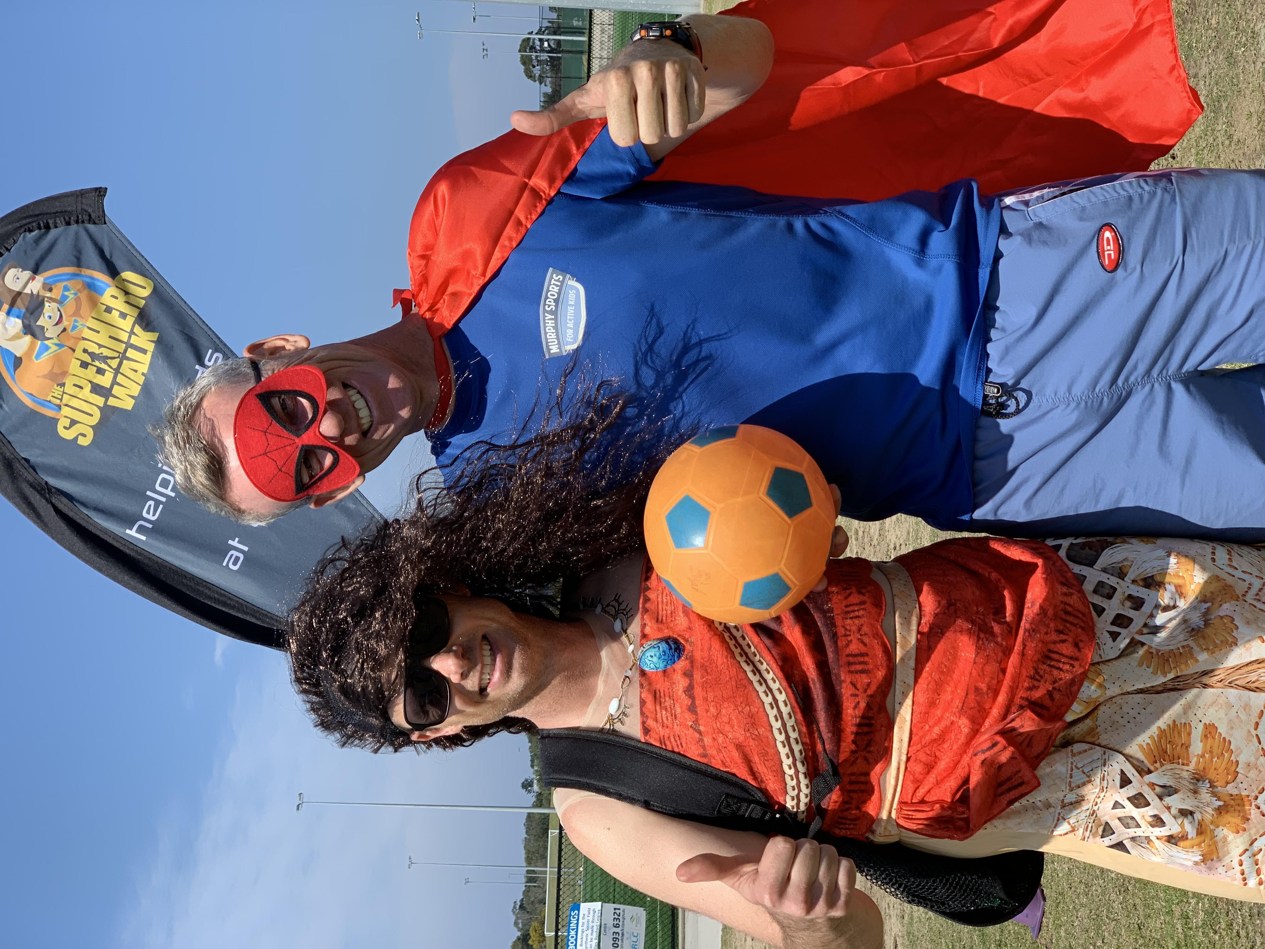 Moana and Murphy Sports 2019