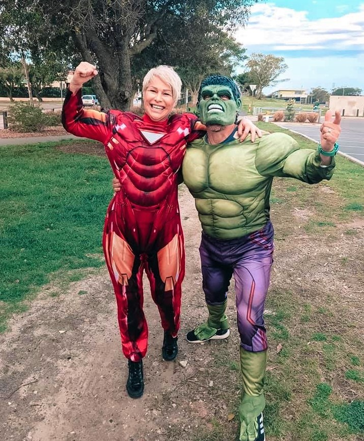 Ironman and hulk 2019