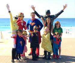 The 2016 Superhero crew