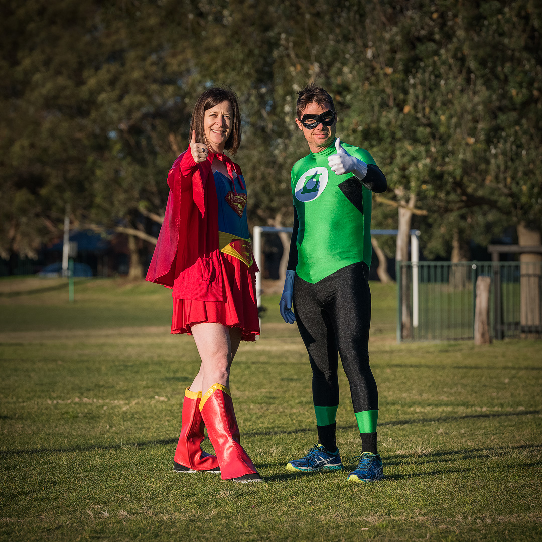 Superwoman and Green Lantern