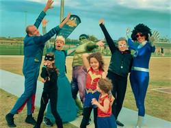 superheroes 2019 in blue