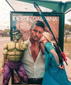 Hulk and Elsa 2019