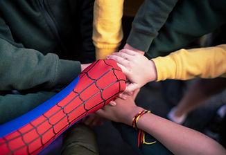 Spiderman team #superherowalk.jpg