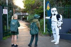 Stormtrooper at MBPS #superherowalk