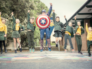 2019 Superhero Walk