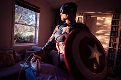 Domestic Captain America