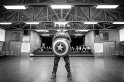 Captain America at MBPS