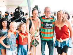 MP Michael Daley and Superheroes 2019