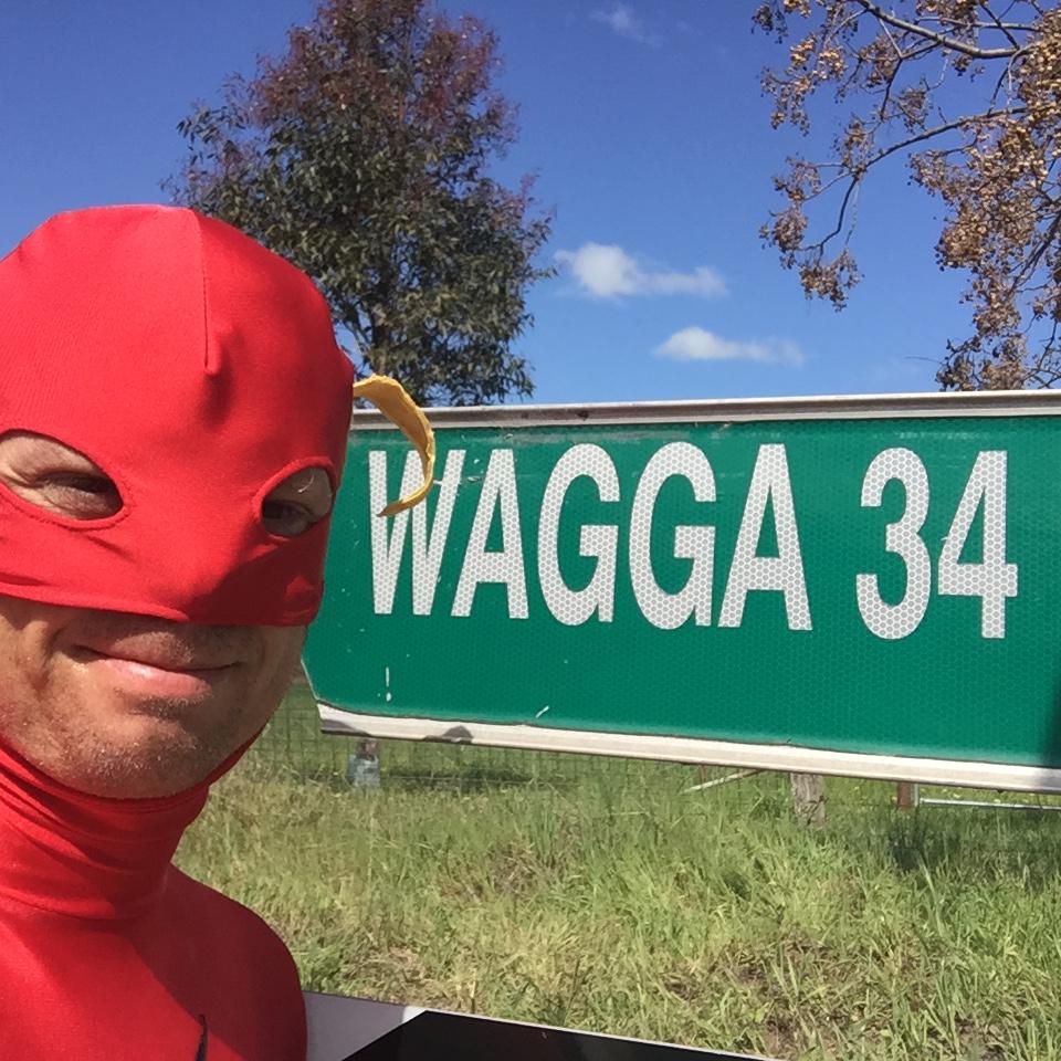 34km to Wagga Wagga
