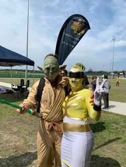 yoda and wife