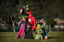 The Superheros!