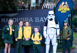 Storm Trooper with MBPS kids 2019