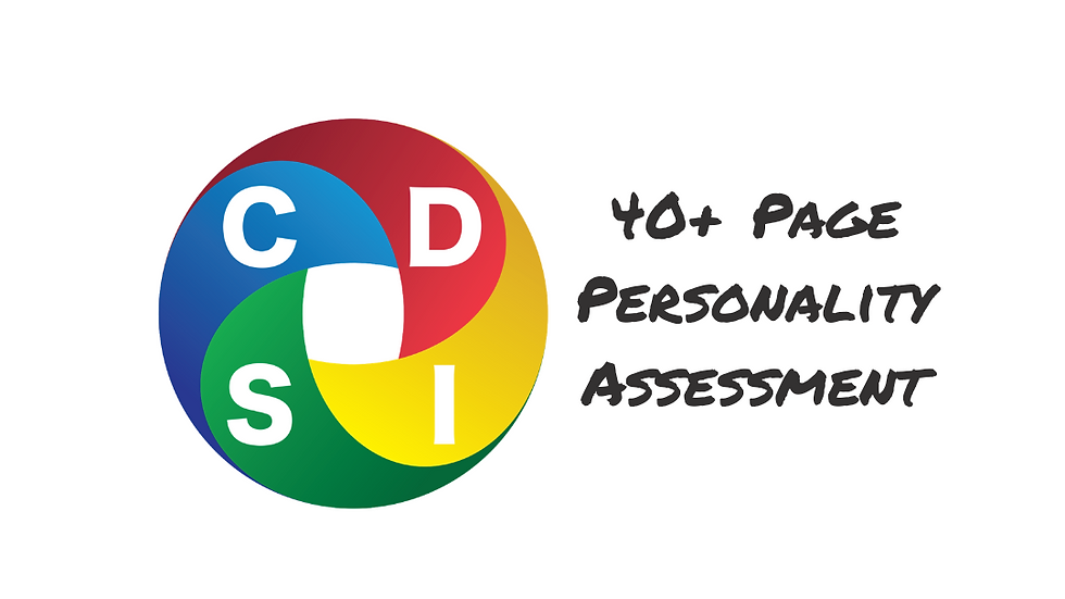 Personality Assessment Report