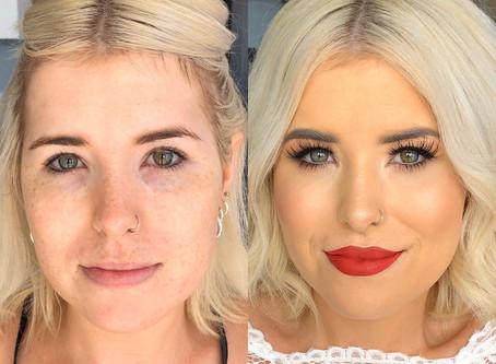 Bridal Makeup Gold Coast - Transformation time!