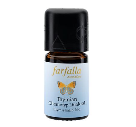 Farfalla | Thymian Chemotyp Linalool bio Wildsammlung