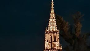 Auf dem höchsten Kirchturm der Schweiz