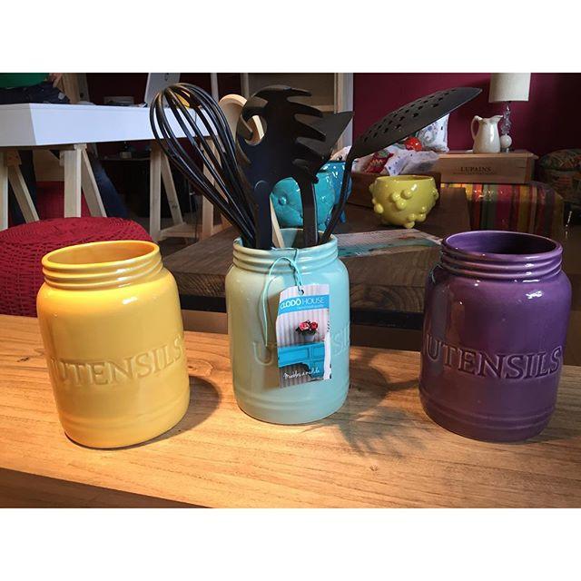 Ponele color a tu cocina ! Porta utensilios en varios colores !!
