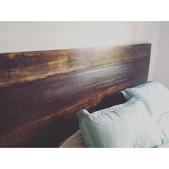 Cama de madera maciza rústica  en 2 metros! Impecable!! #cama