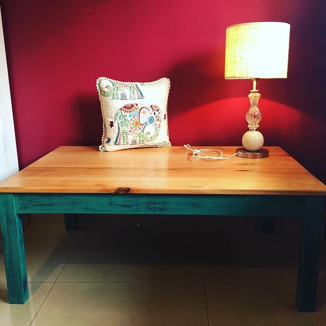 Mesa ratona en madera.jpg Patinada en el color que quieras