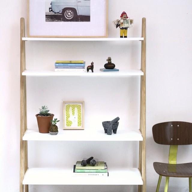 Estantería nórdica #nordic #furniture #white #wood #diseño #style #design #muebles #clodohouse #hous