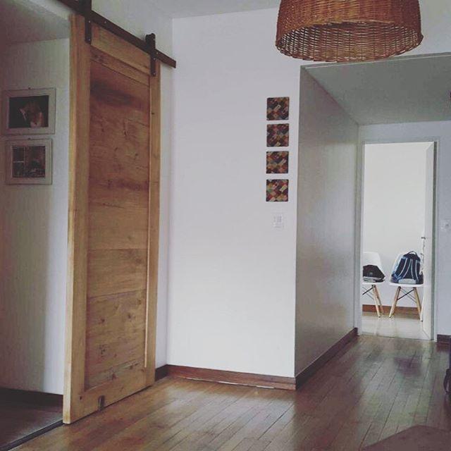 Portón de madera maciza,  perímetro de 2 _ y tablero en 1_