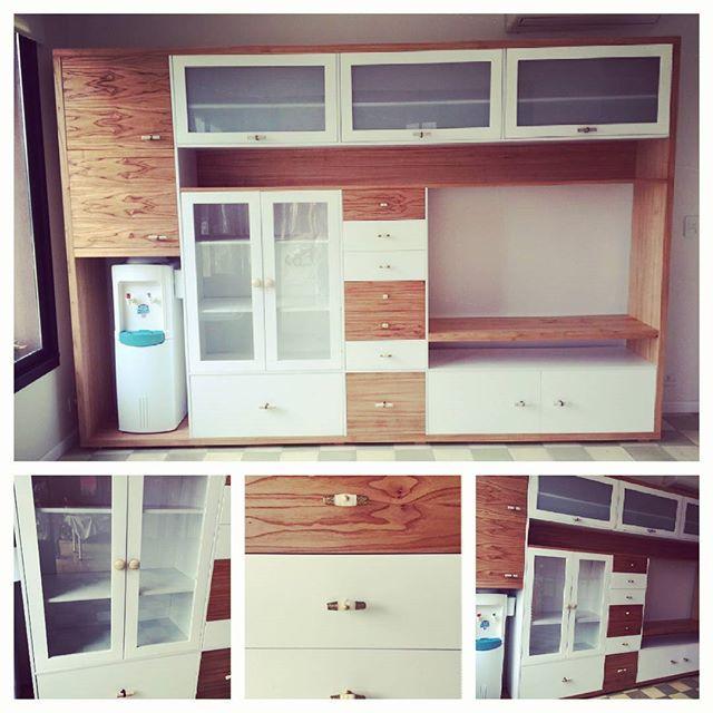 Ahora si! ! Proyecto terminado! ! #madera #proyecto #diseño