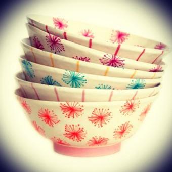 Ensaladeras cerámica varios colores