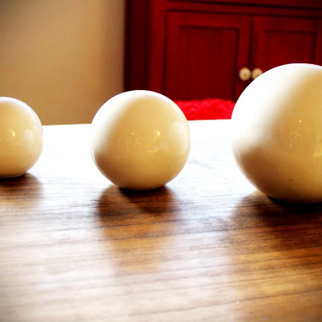 Juego de tres esferas! en todos los colores! Pedime las tuyas! #esferas  #ceramicas #deco