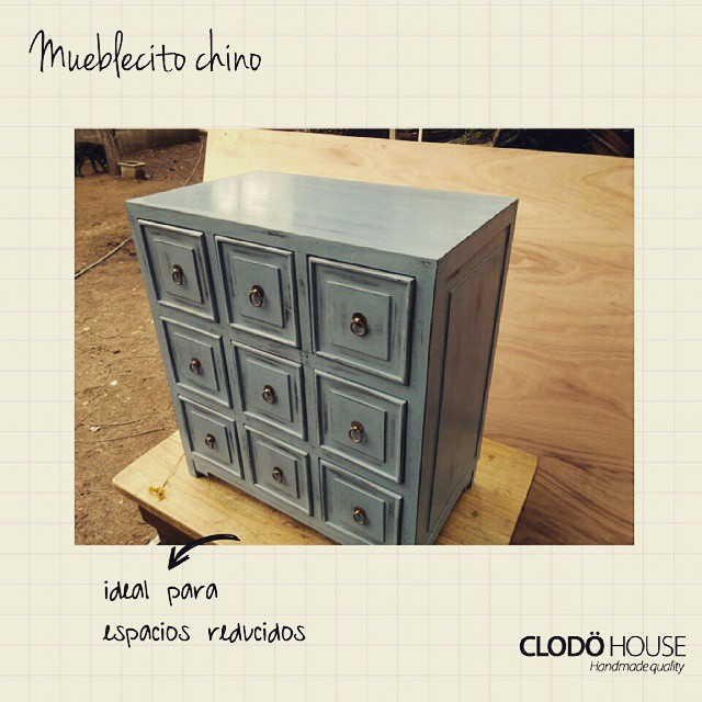 Mueble chino varios colores #buenosaires #argentina #clodohouse #mueble #handmade #house #furniture